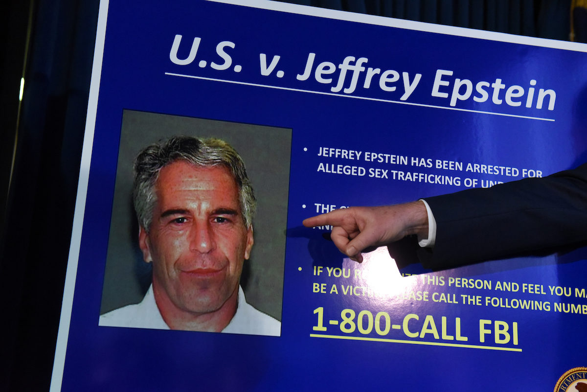 US Attorney for the Southern District of New York Geoffrey Berman announces charges against Jeffery Epstein