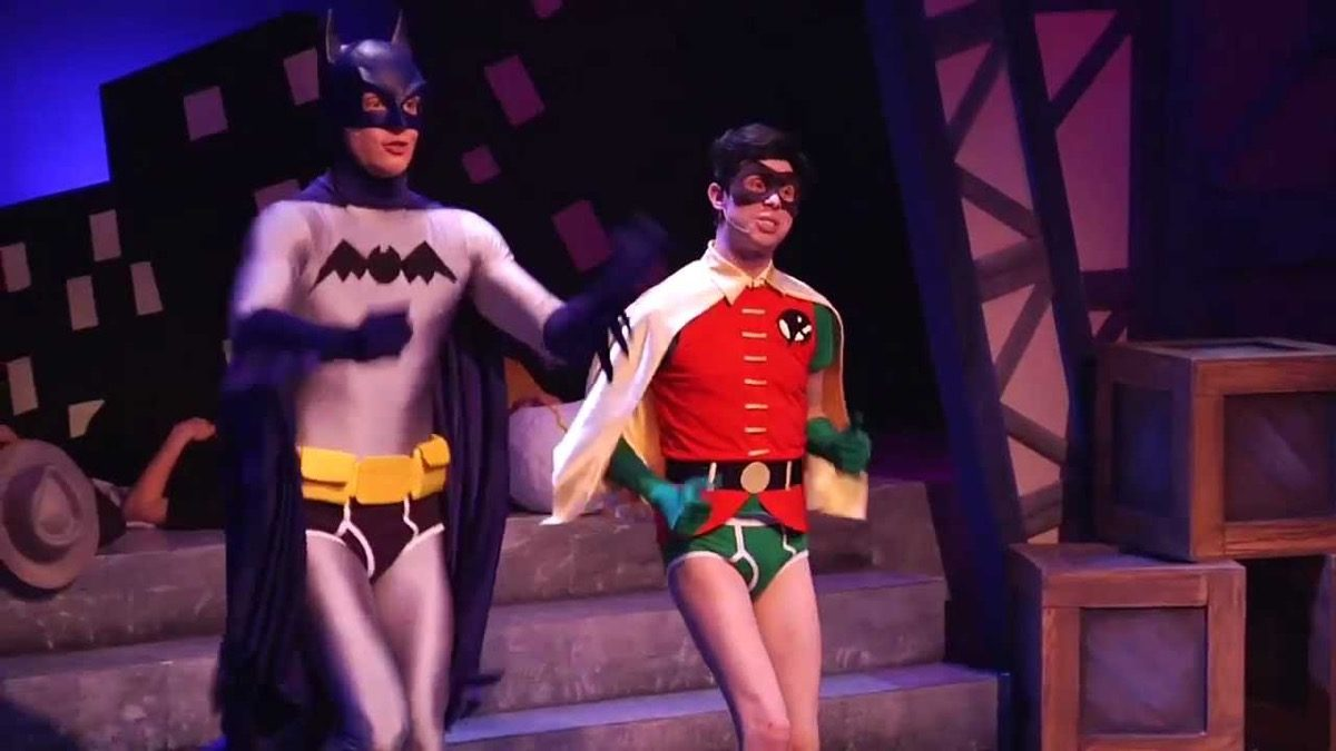 Batman and Robin in Holy Musical B@man!