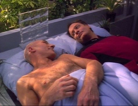 Picard and Q on the Next Generation