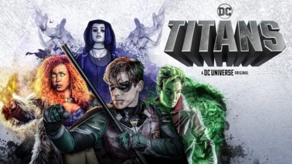 Art from DC Universe's Titans.