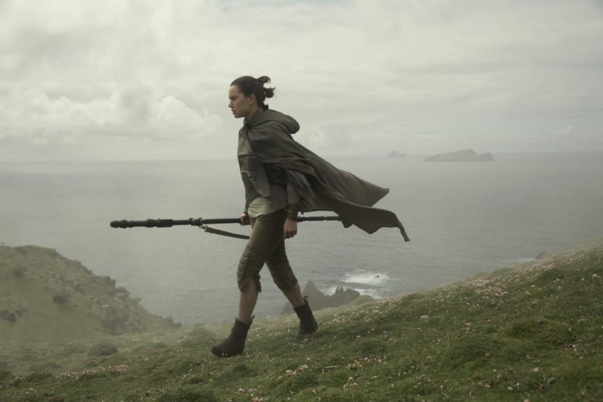 Daisy Ridley in Star Wars: Episode VIII - The Last Jedi (2017)