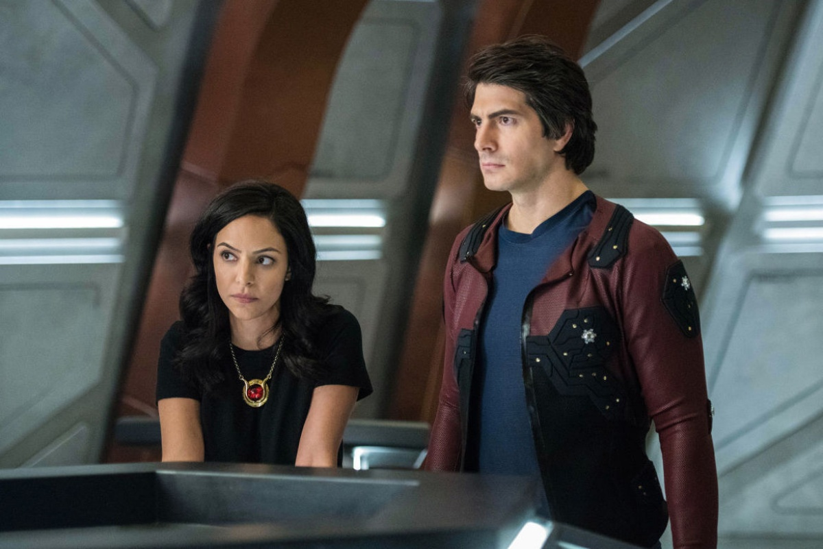 Brandon Routh and Courtney Ford on DC's Legends of Tomorrow