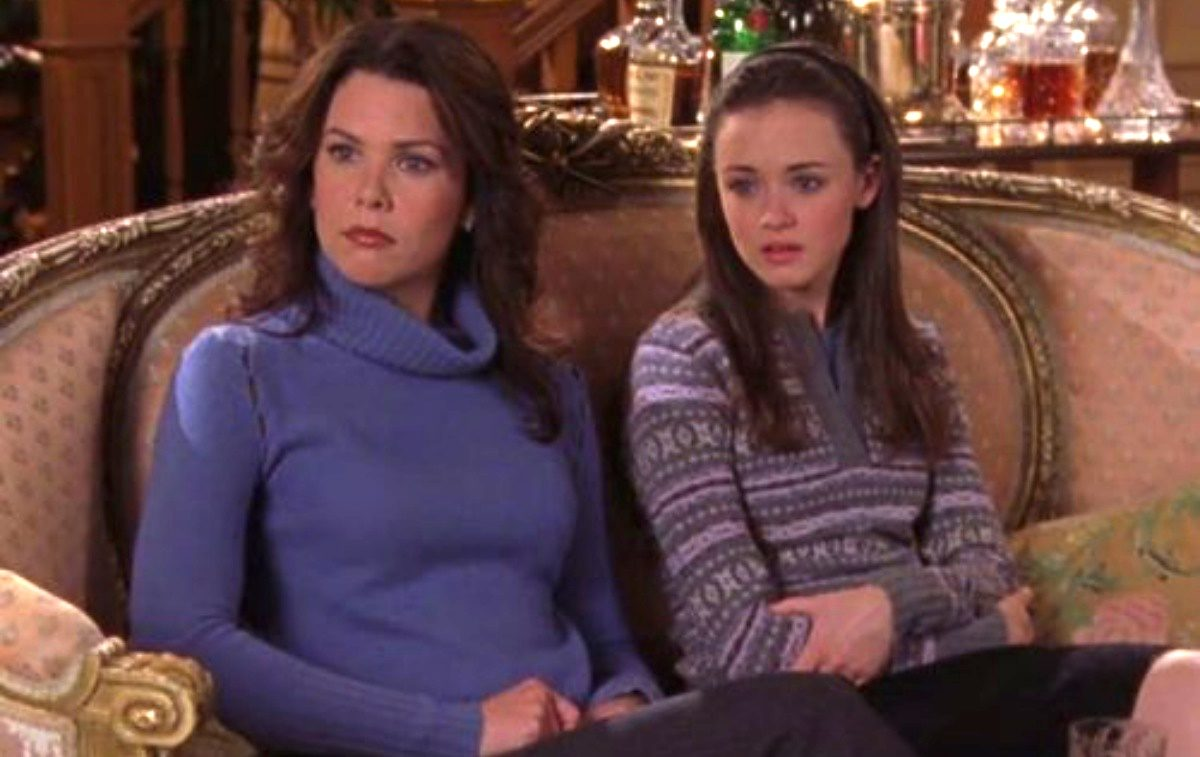 Lorelai and Rory, the Gilmore Girls.