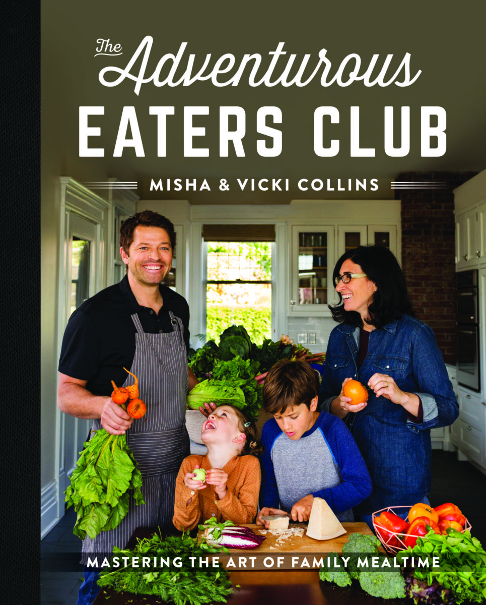 Cover of the adventurous eaters club with misha and vicki collins photo Michéle M. Waite