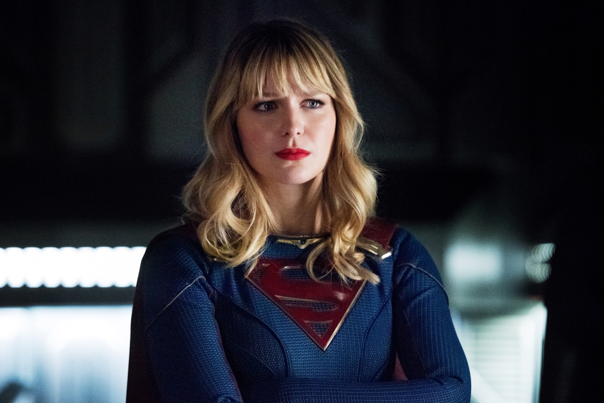 """The Flash -- """"Crisis on Infinite Earths: Part Three"""" -- Image Number: FLA609d_0467b.jpg -- Pictured: Melissa Benoist as Kara/Supergirl -- Photo: Dean Buscher/The CW -- © 2019 The CW Network, LLC. All Rights Reserved."""