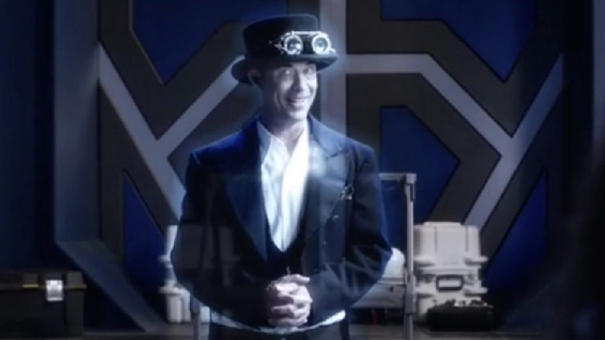 Steampunk Harrison Wells on The CW's The Flash.