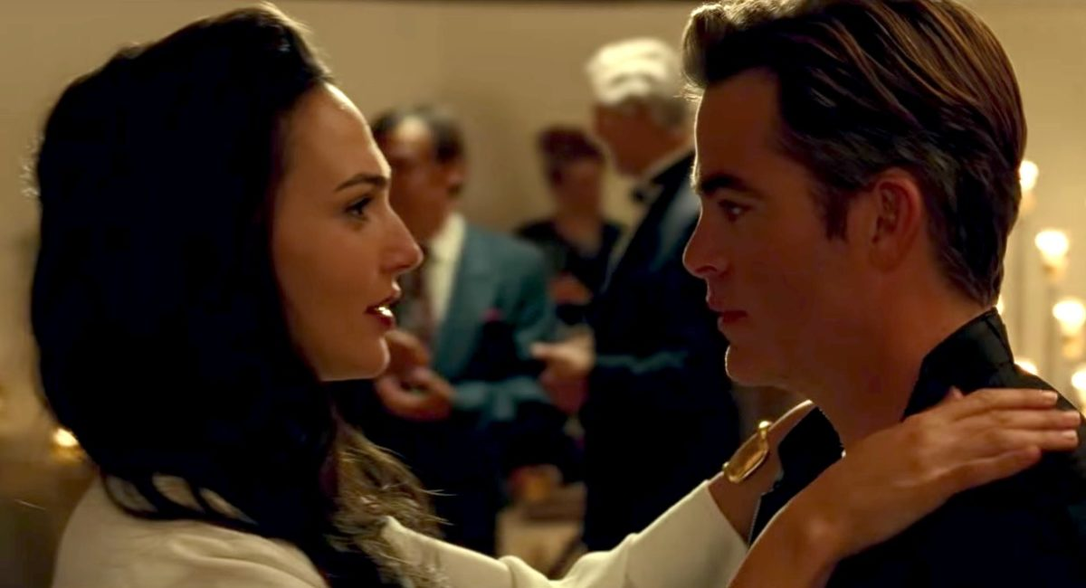 Diana and Steve Trevor in Wonder Woman 1984.