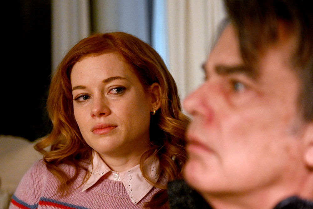 "ZOEY'S EXTRAORDINARY PLAYLIST -- ""Pilot"" Episode 101 -- Pictured: (l-r) Jane Levy as Zoey, Peter Gallagher as Mitch -- (Photo by: Sergei Bachlakov/NBC)"