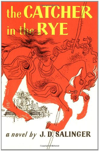 Catcher in the Rye book cover.