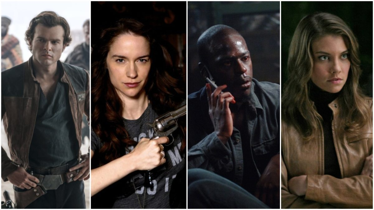 actors who were on Supernatural, Images: Lucasfilm, SyFy, The CW.