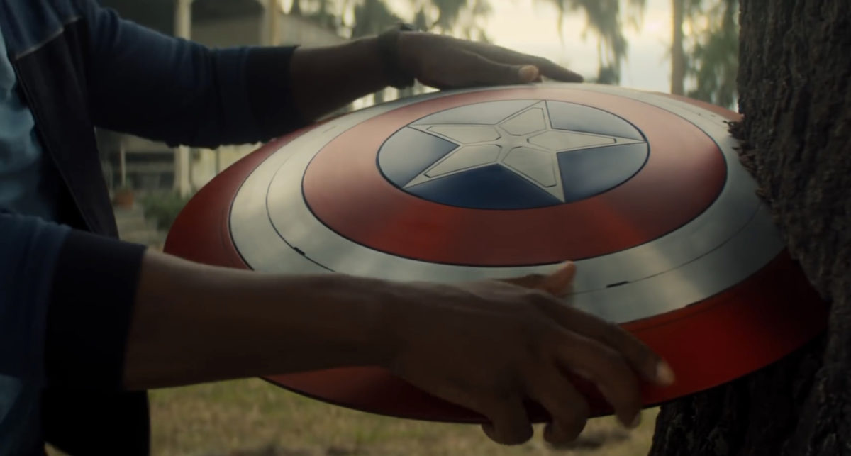 Captain America's Shield in Falcon and the Winter Soldier