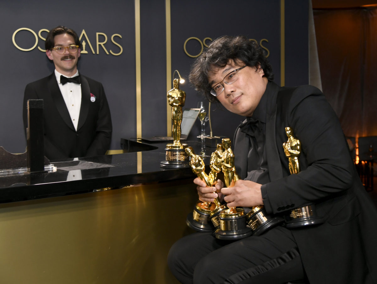 Bong Joon-Ho and all his Oscar babies
