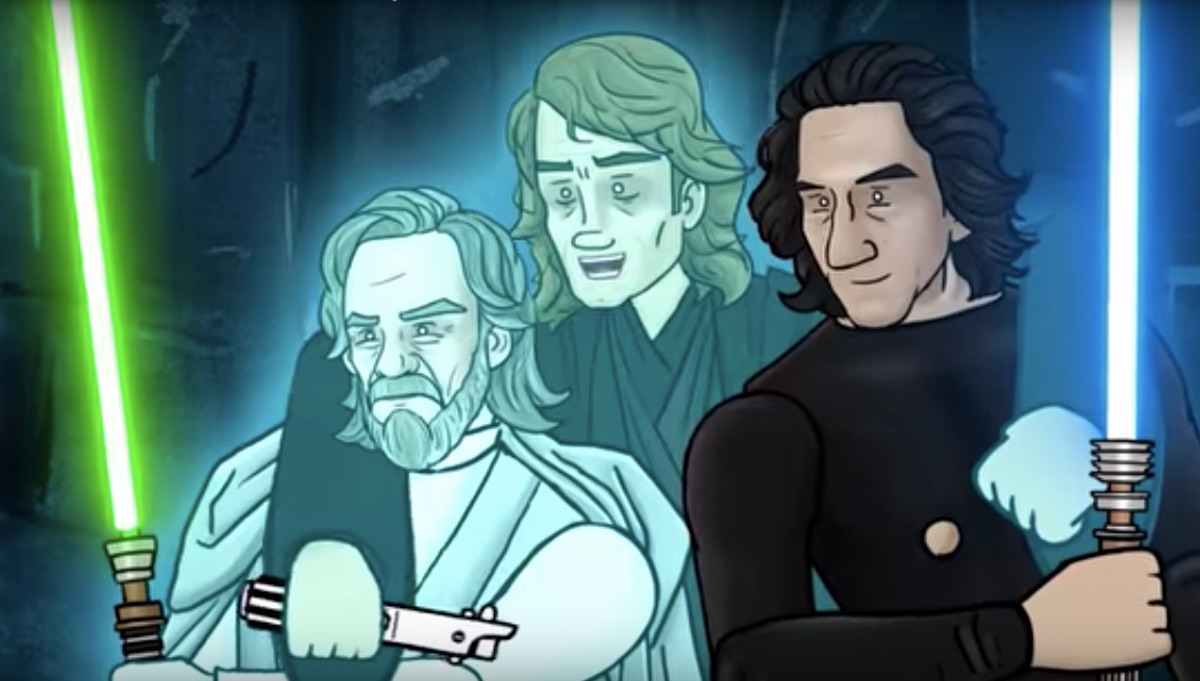 Star: Wars The Rise of Skywalker How It Should Have Ended