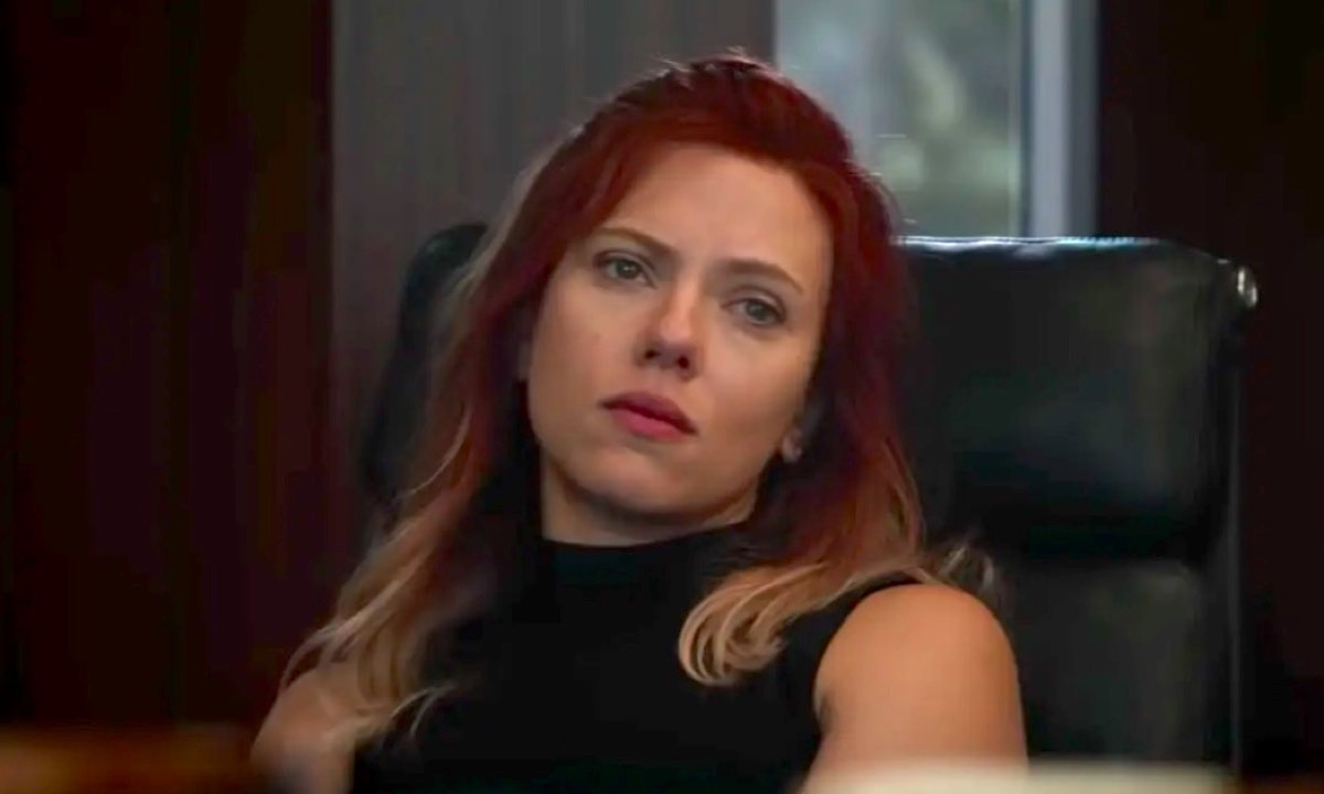 Scarlet Johansson as Black Widow in Avengers: Endgame