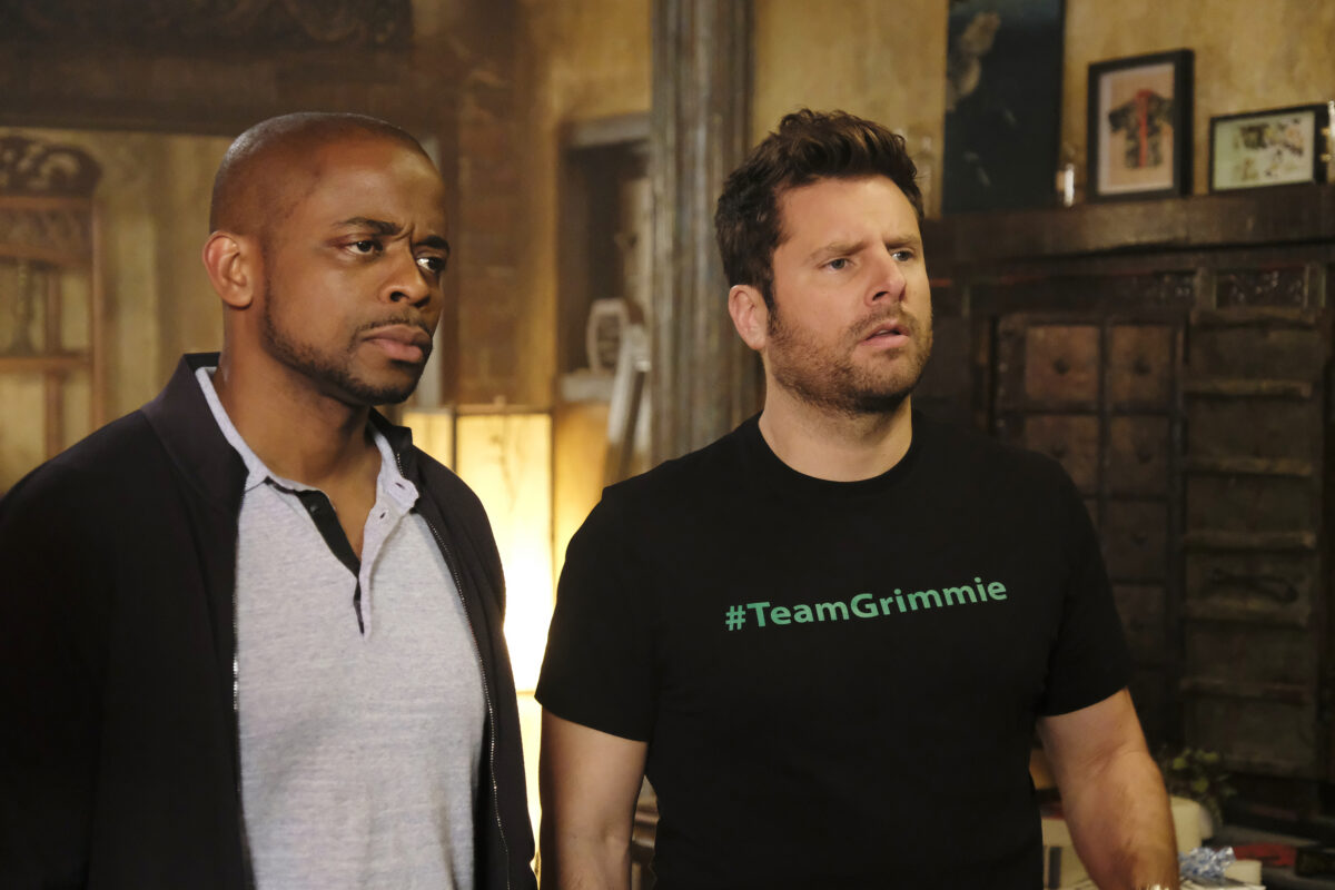 Shawn Spencer and Gus Guster in Psych