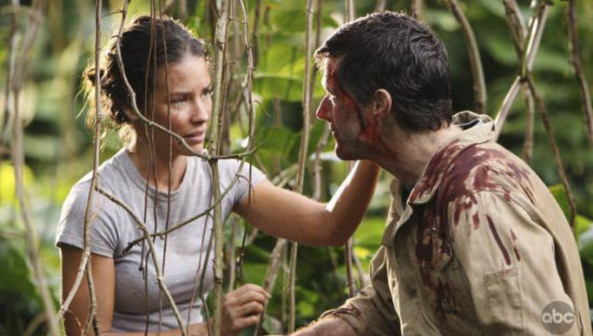 Jack and Kate in LOST