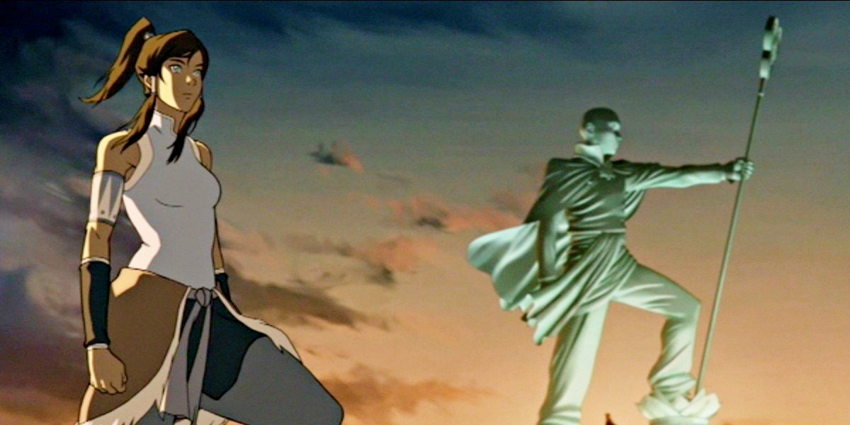 Aang and Korra, two avatars two different stoires