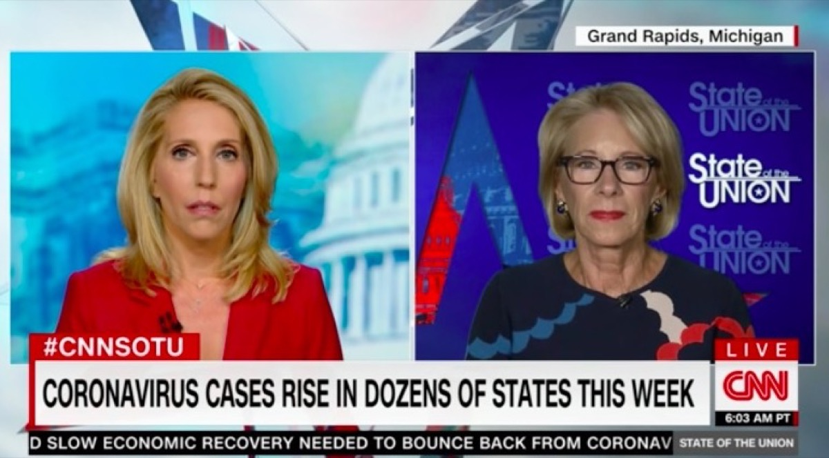 Betsy DeVos's Disastrous CNN Interview DID (Accidentally) Explain the Trump Admin's Pandemic Plans