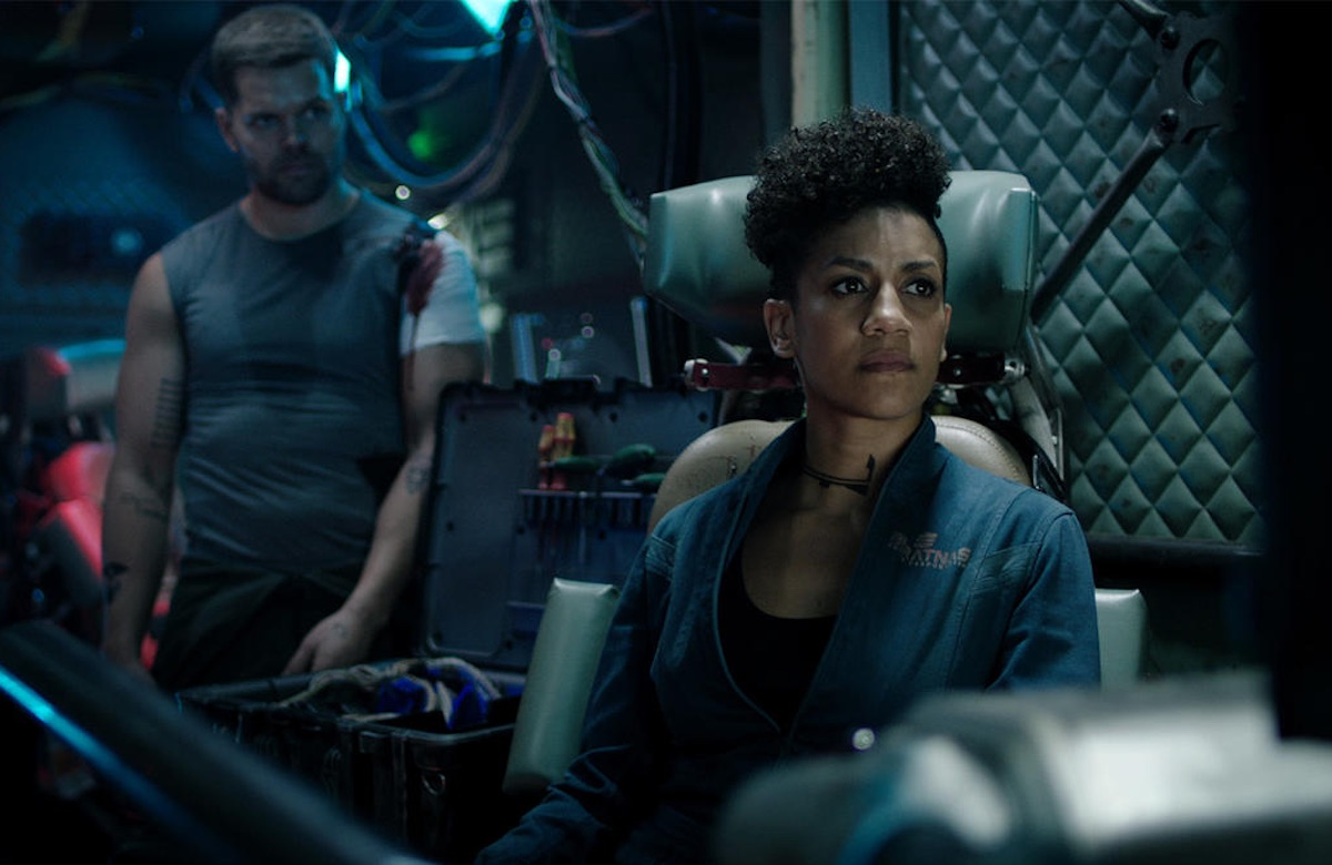 Dominique Tipper and Wes Chatham on 'The Expanse'