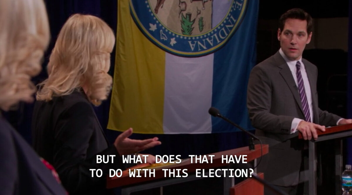 screengrab from parks and rec