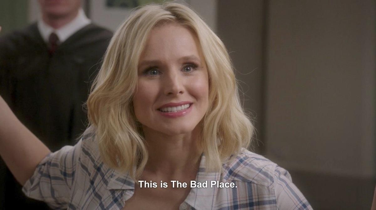 Eleanor Shellstrop on the Good Place