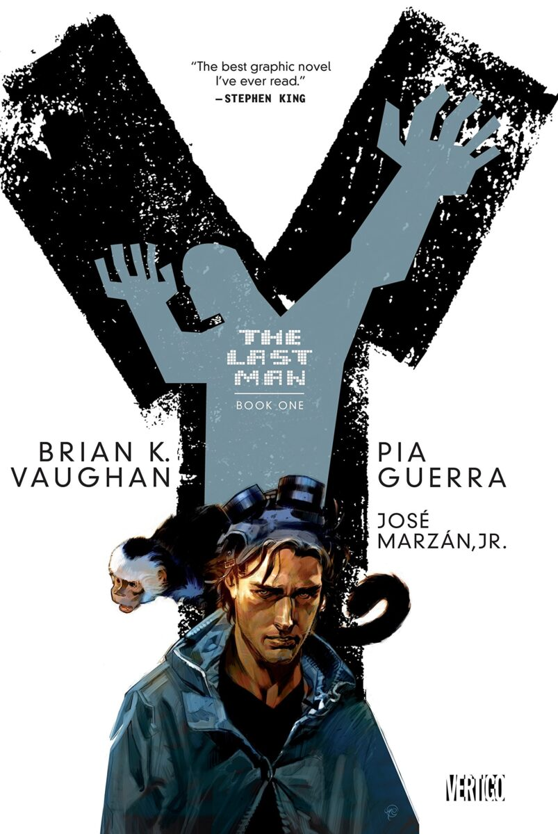 Book Cover for Y: The Last Man by Brian K. Vaughan