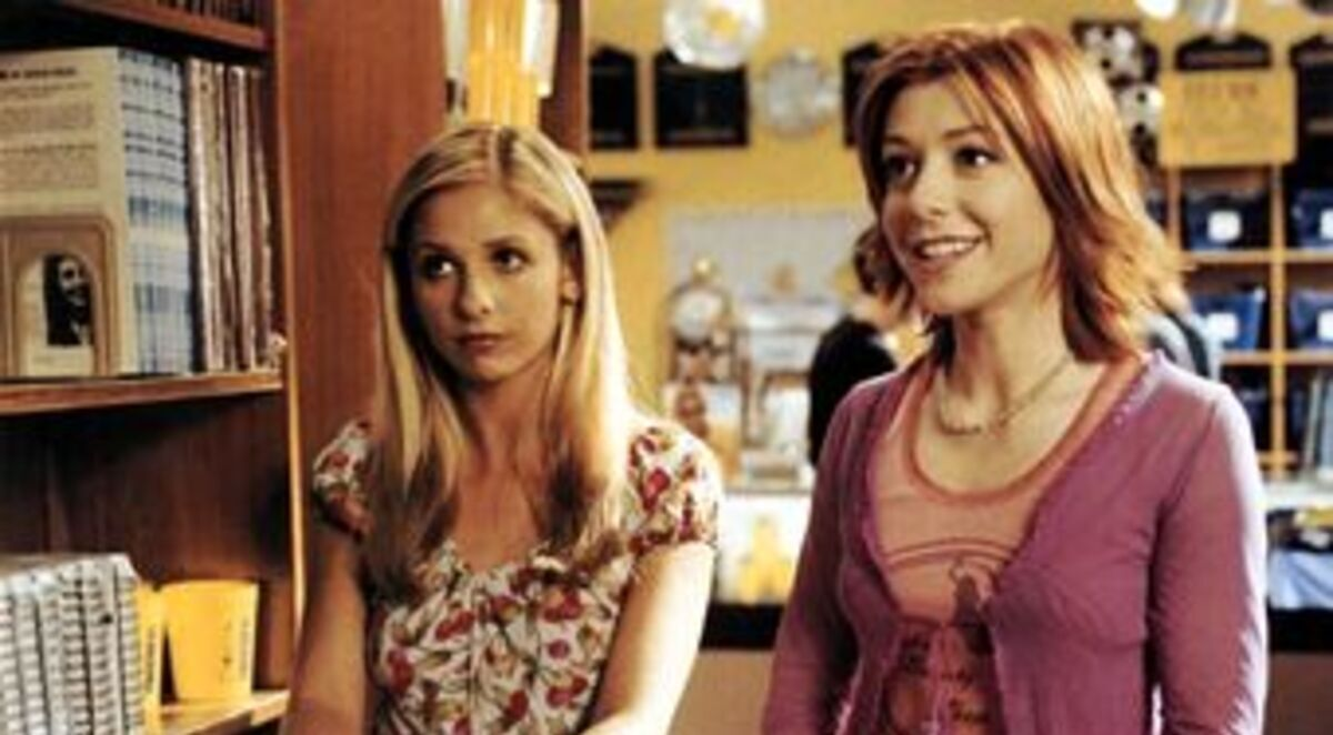 Buffy and Willow should have dated