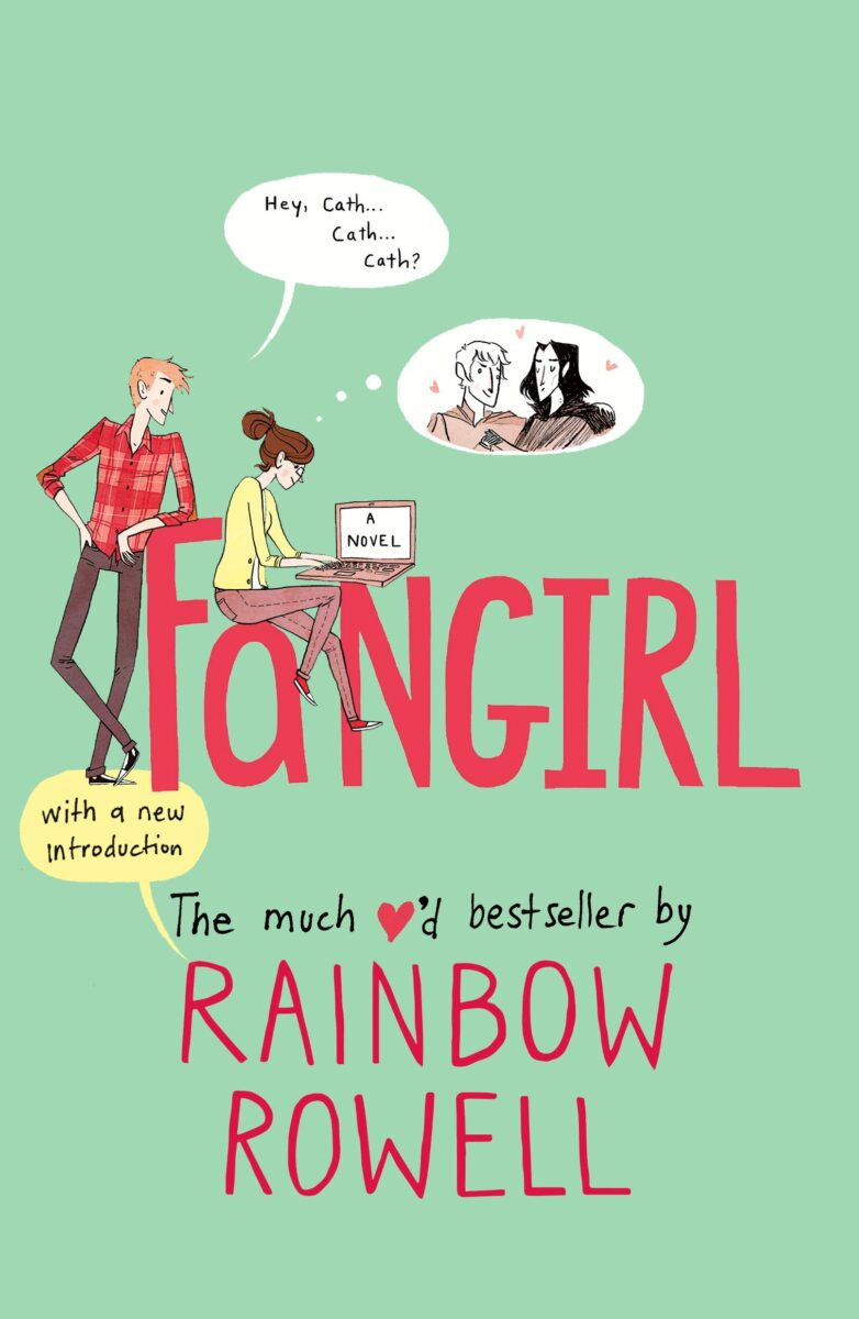 Book cover for Fangirl by Rainbow Rowell