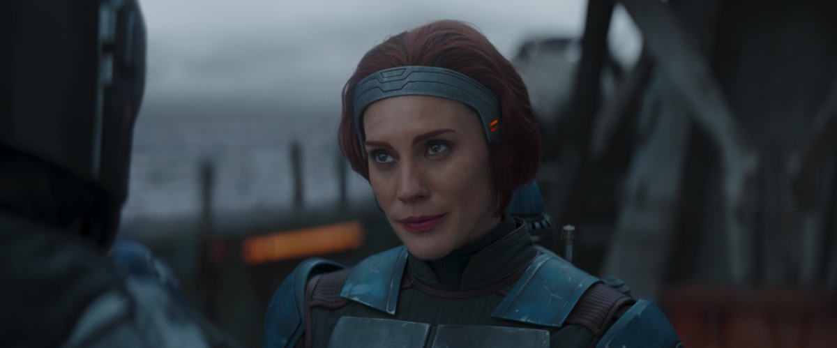 Katee Sackoff in The Mandalorian