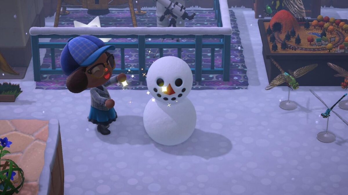 Screenshot of me with my first snowboy.
