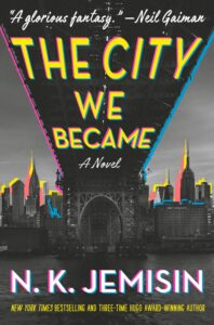 Book cover for The City We Became By N.K. Jemisin