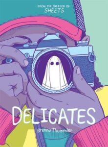 Book cover for Delicates by Brenna Thrummler