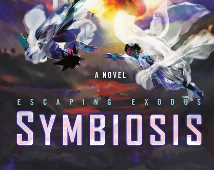 Book cover for Escaping Exodus: Symbiosis by Nicky Draven