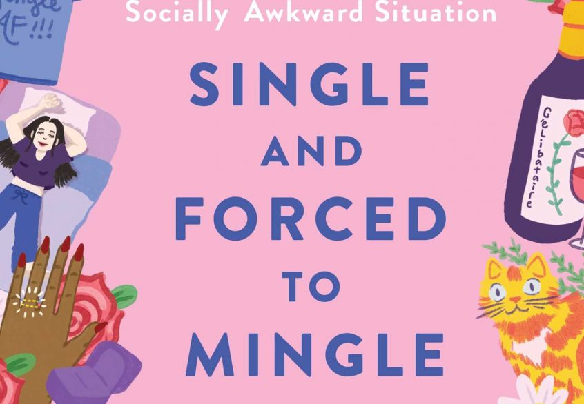 Book cover for Single And Forced To Mingle by Melissa Croce