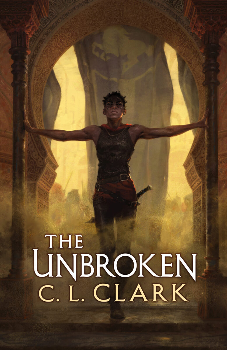 Book cover for The Unbroken by C.L. Clark