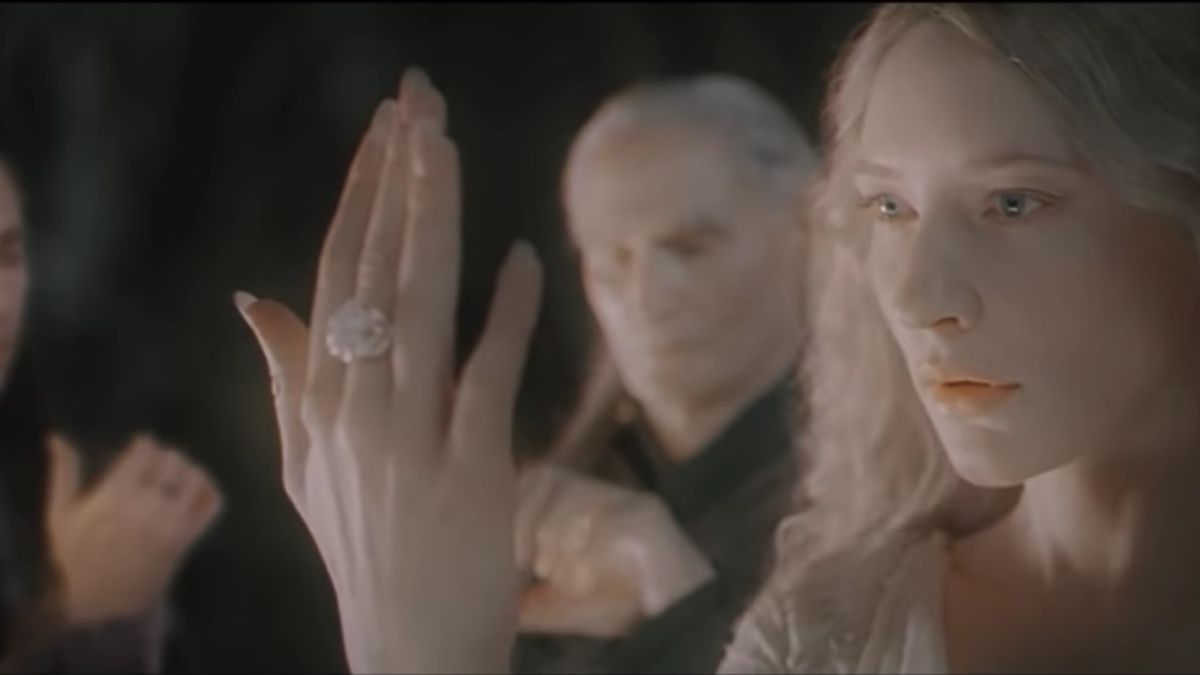 galadriel receives a ring of power