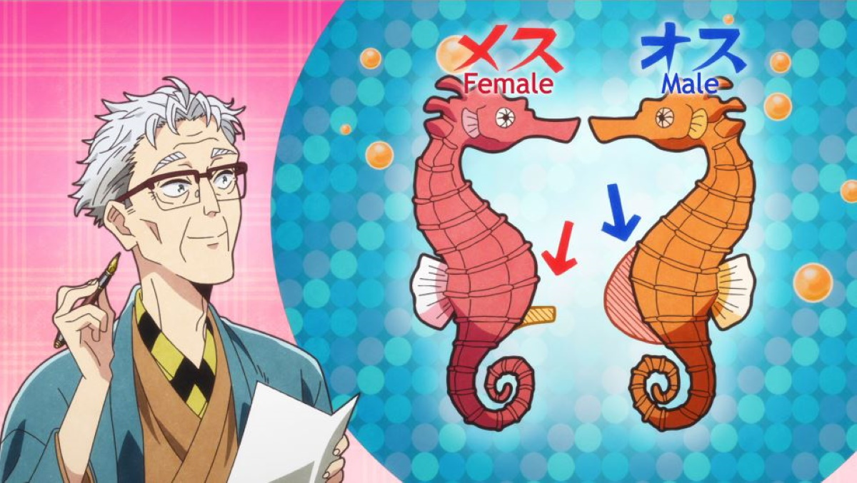 The truth about seahorses in Heaven's Design Team