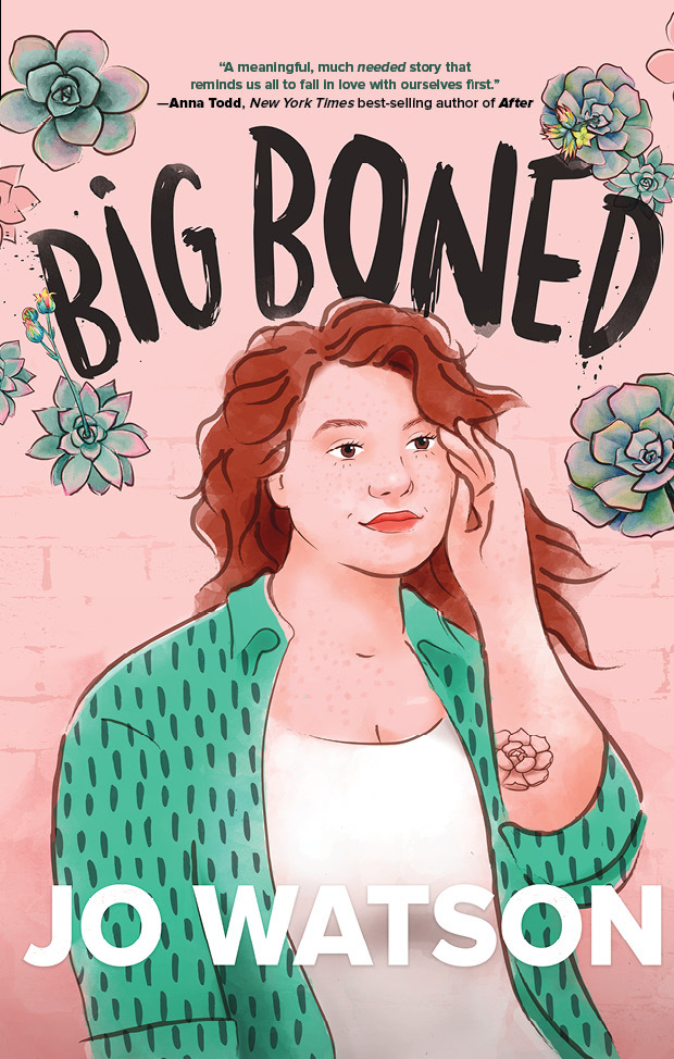 Exclusive cover reveal for Big Boned by Jo Watson