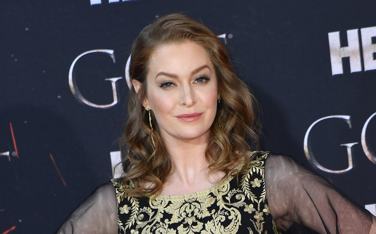"British actress Esme Bianco arrives for the ""Game of Thrones"" eighth and final season premiere at Radio City Music Hall on April 3, 2019 in New York city. (Photo by Angela Weiss / AFP) (Photo credit should read ANGELA WEISS/AFP via Getty Images)"