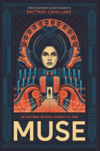 Book cover for Muse by Brittany Cavallaro
