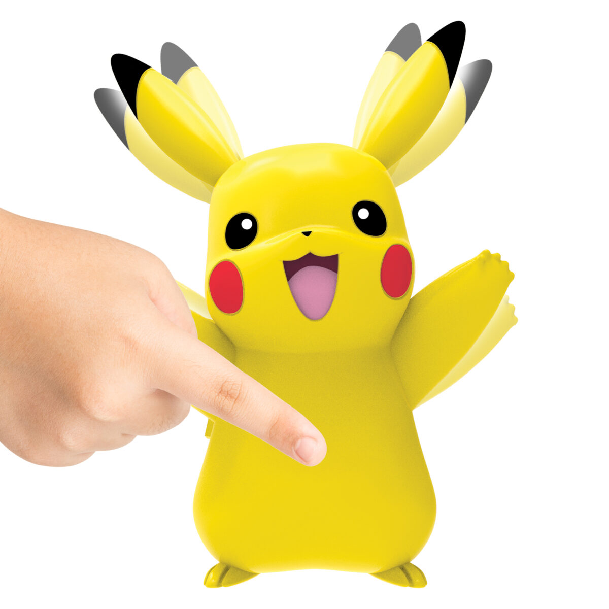 Image of Pikachu in action