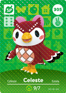 Amiibo card for Celeste