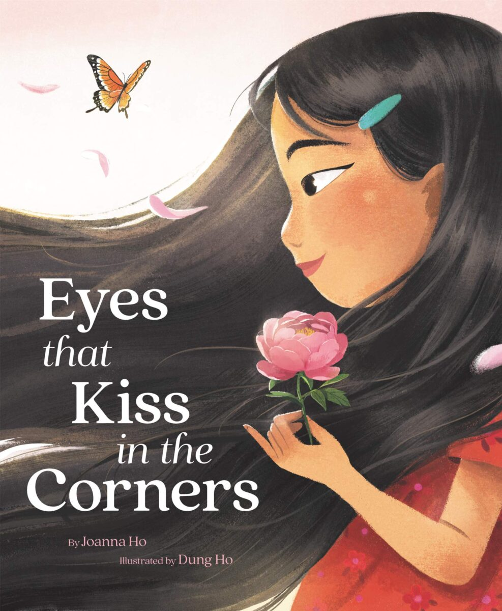 Book cover for Eyes That Kiss At The Corners by Joanna Ho