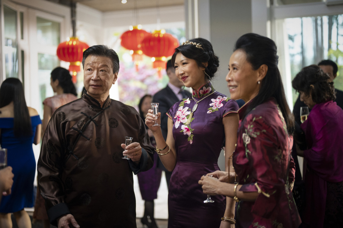 "Kung Fu -- ""Pilot"" -- Image Number: KF101f_0185r.jpg -- Pictured (L-R): Tzi Ma as Jin Shen, Shannon Dang as Althea Shen and Kheng Hau Tan as Mei - Li -- Photo: Kailey Schwerman/The CW -- © 2021 The CW Network, LLC. All Rights Reserved"