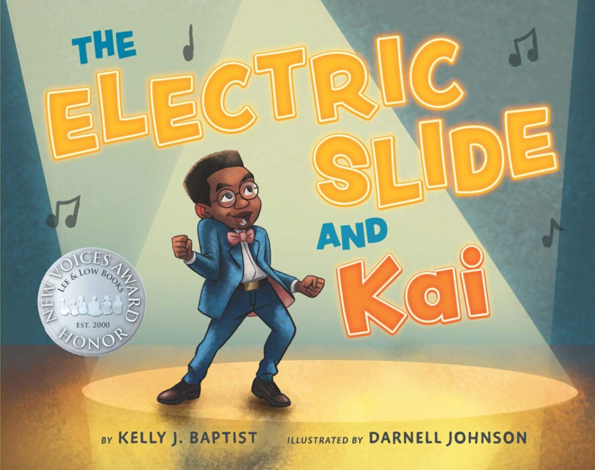 Book cover for The Electric Slide and Kai by Kelly L. Baptist