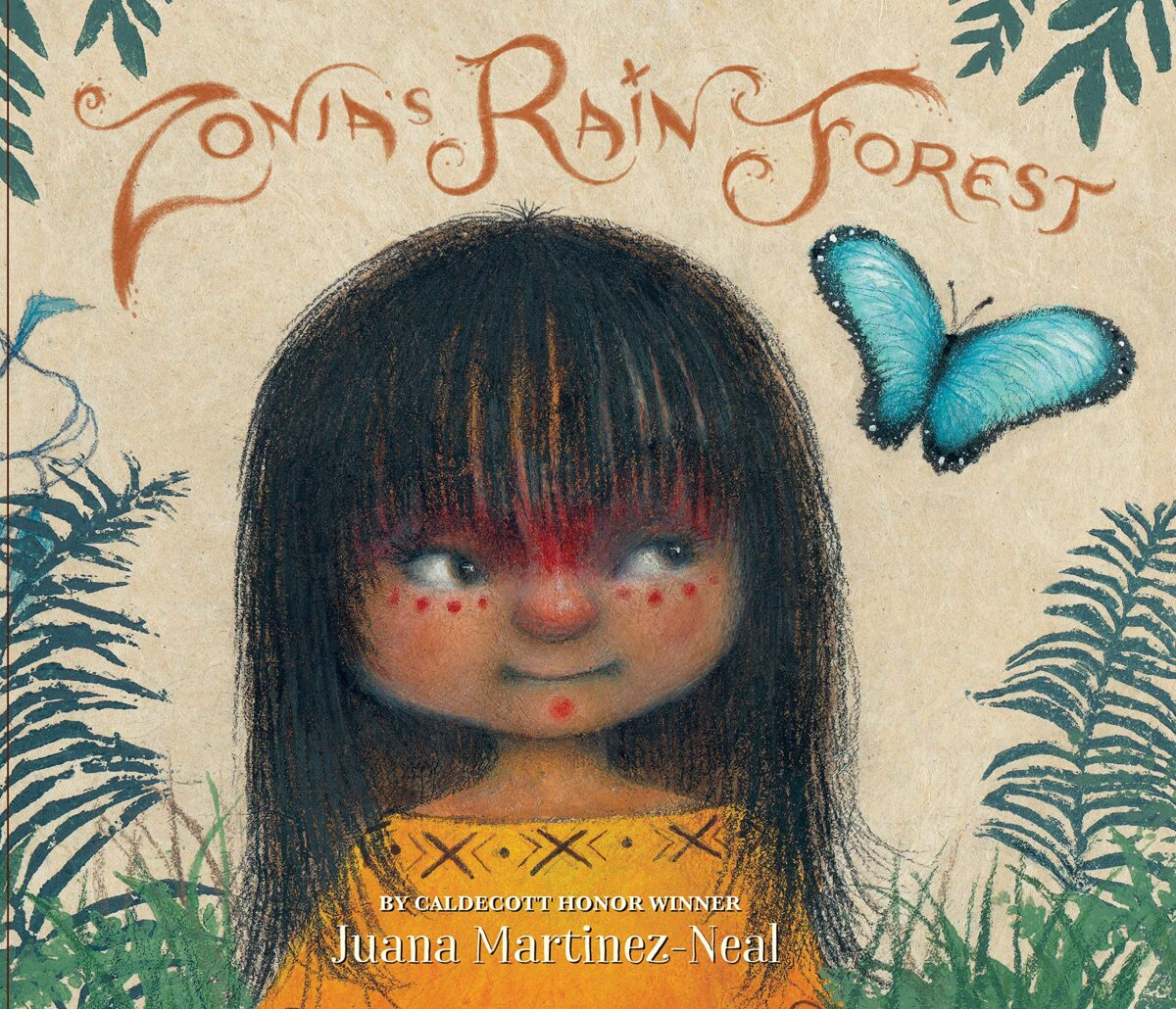 Book cover for Zonia's Rainforest by Juana Martinez-Neal