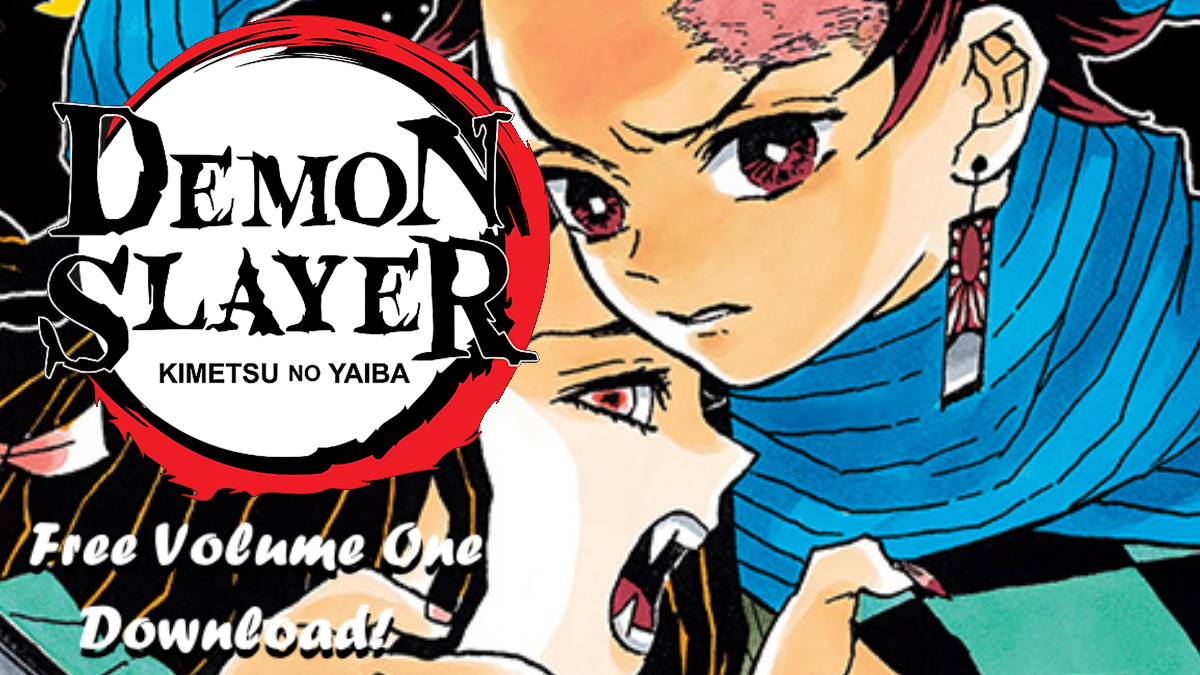 Hey Slayers, Go Get Yourself a Free Copy Of the First Volume of the Demon Slayer Manga!