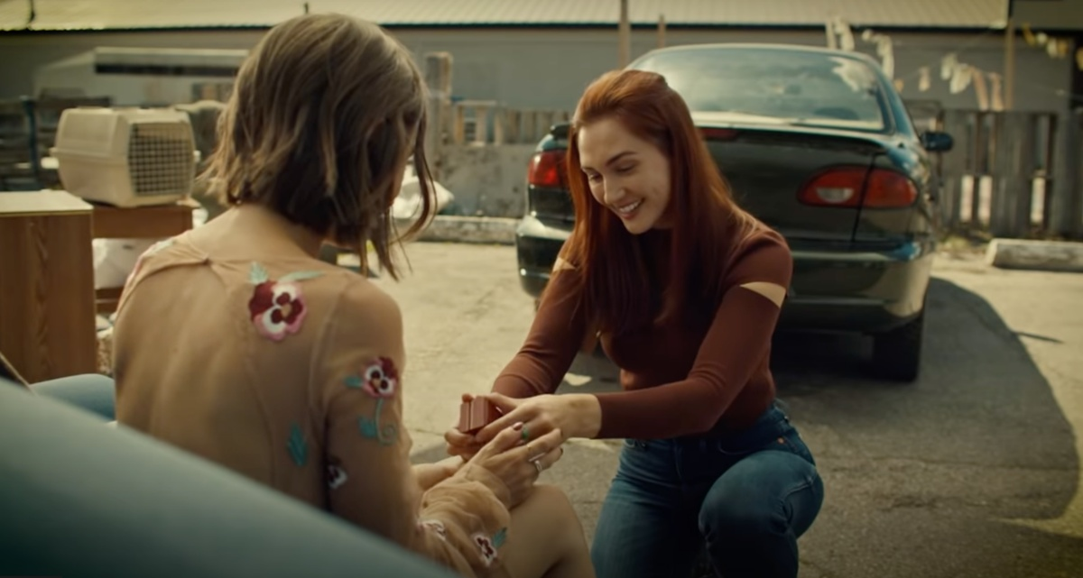 Waverly Earp (Dominique Provost-Chalkley) and Nicole Haught (Katherine Barrell) are finally tying the knot.
