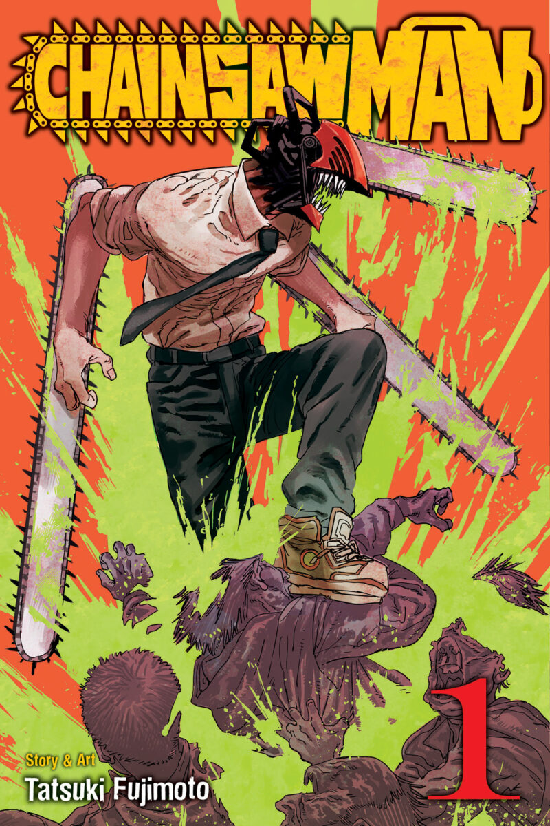 The first volume of Chainsaw Man