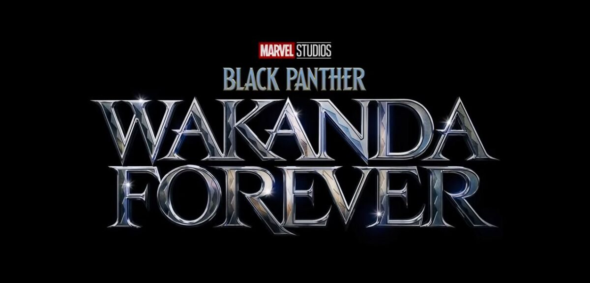 Title card for the upcoming Black Panther sequel